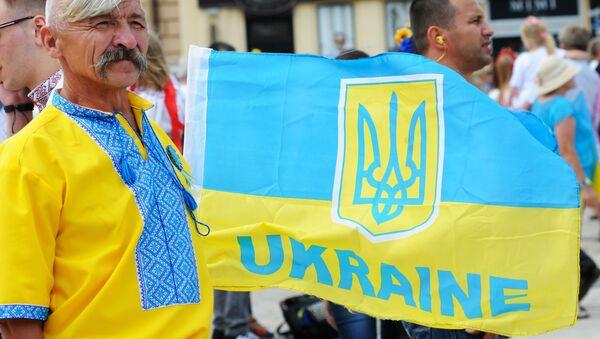 Większość Ukraińców nie chce, by rosyjski był językiem urzędowym - Sputnik Polska