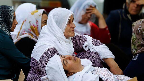 Zamach w tureckim mieście Gaziantep - Sputnik Polska