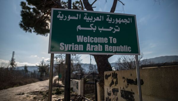 Sytuacja na syryjsko-tureckiej granicy - Sputnik Polska