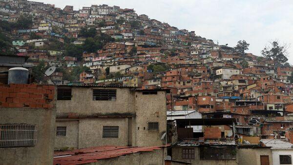 Wenezuela, slumsy - Sputnik Polska