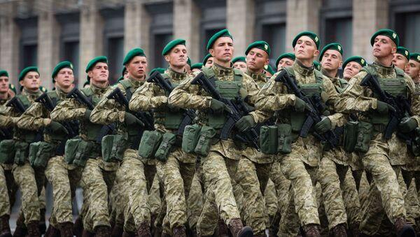 Nowe umundurowanie Sił Zbrojnych Ukrainy - Sputnik Polska