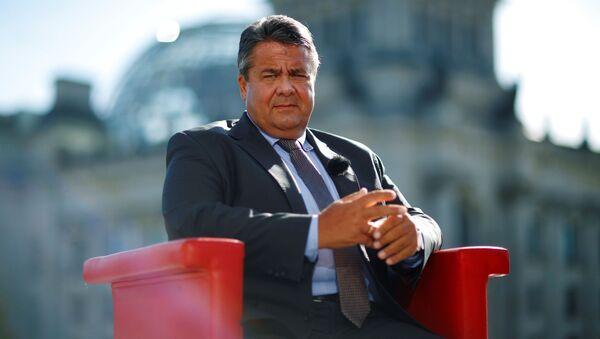 Wicekanclerz i minister gospodarki Niemiec Sigmar Gabriel - Sputnik Polska