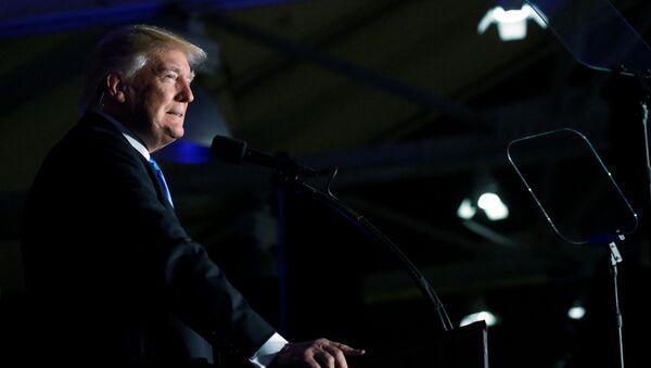 Republikański kandydat na stanowisko prezydenta USA Donald Trump - Sputnik Polska