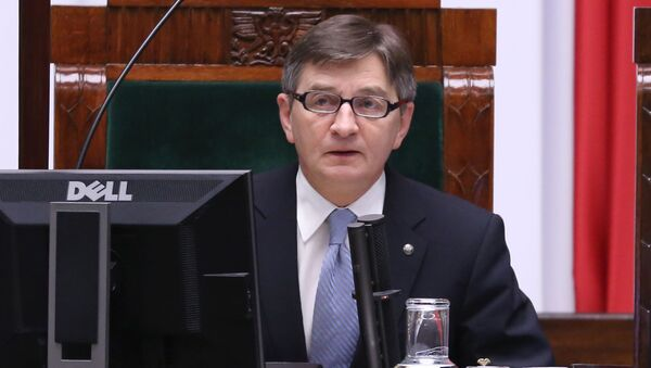 Marszałek polskiego Sejmu Marek Kuchciński - Sputnik Polska