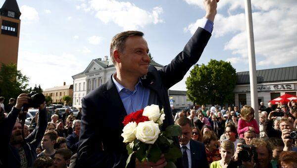 Kandydat PiS Andrzej Duda - Sputnik Polska