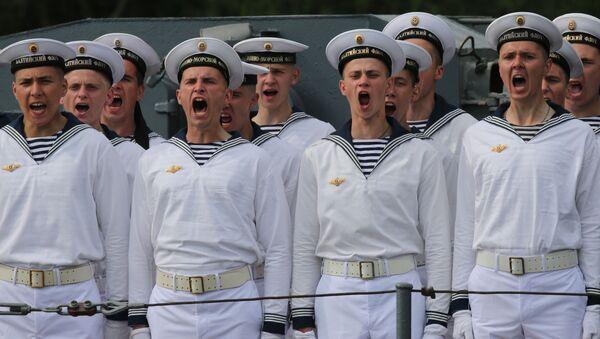 Marynarze Floty Bałtyckiej - Sputnik Polska