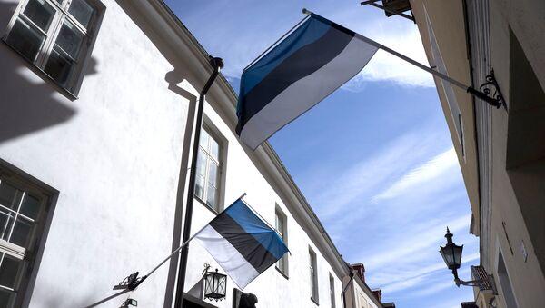 Flagi Estonii - Sputnik Polska