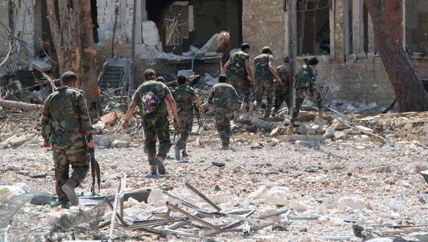 Konflikt w Syrii. Aleppo - Sputnik Polska