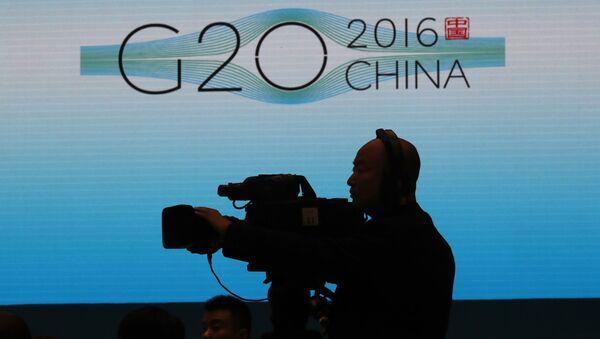 Szczyt G20 w chińskim Hanhzhou - Sputnik Polska