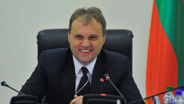 Prezydent Naddniestrzańskiej Republiki Mołdawskiej Jewgienij Szewczuk - Sputnik Polska