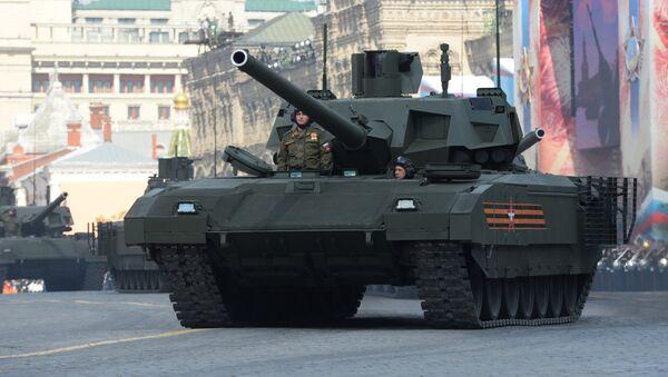 Czołg Т-14 Armata - Sputnik Polska