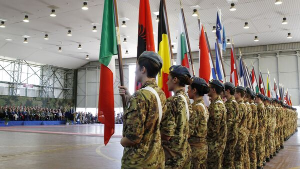 Natowskie manewry Trident Juncture we Włoszech - Sputnik Polska