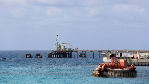 Jeden z libijskich portów naftowych - Sputnik Polska