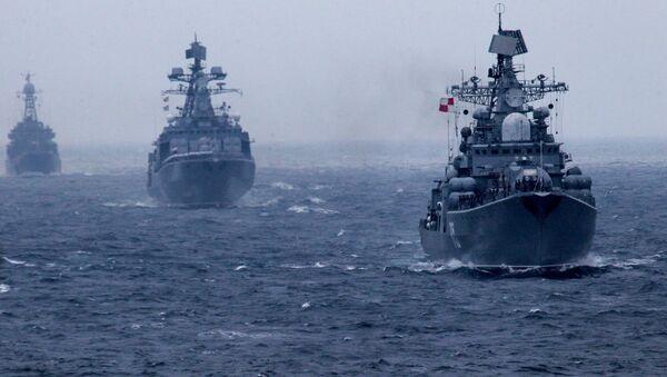 """Rosyjsko-chińskie ćwiczenia """"Morskie Współdziałanie 2015"""" we Władywostoku - Sputnik Polska"""