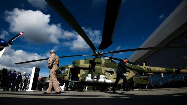 Wielofunkcyjny helikopter Mi-17B-5 - Sputnik Polska