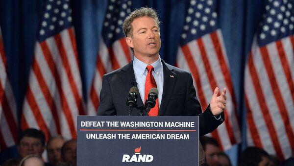 Amerykański senator Rand Paul - Sputnik Polska