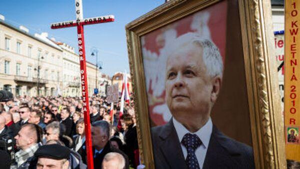 Rocznica katastrofy smoleńskiej - Sputnik Polska
