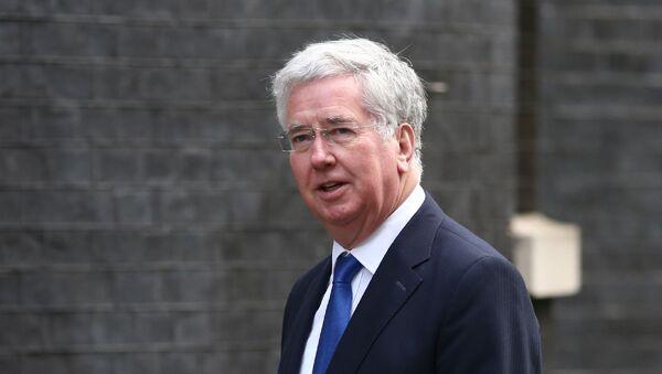 Minister obrony Wielkiej Brytanii Michael Fallon - Sputnik Polska