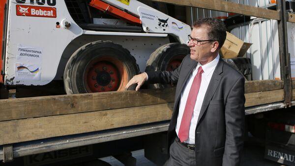 Minister ds. współpracy gospodarczej i rozwoju w rządzie Merkel Gerd Müller - Sputnik Polska