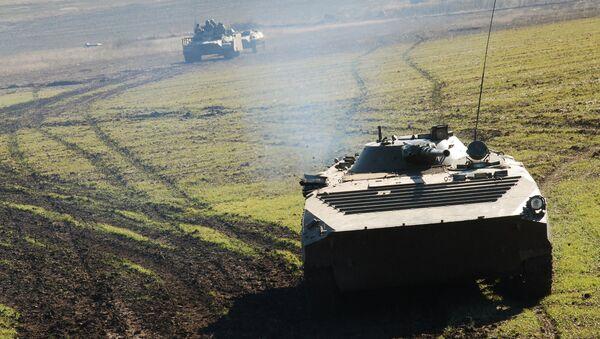 Konflikt w Donbasie - Sputnik Polska