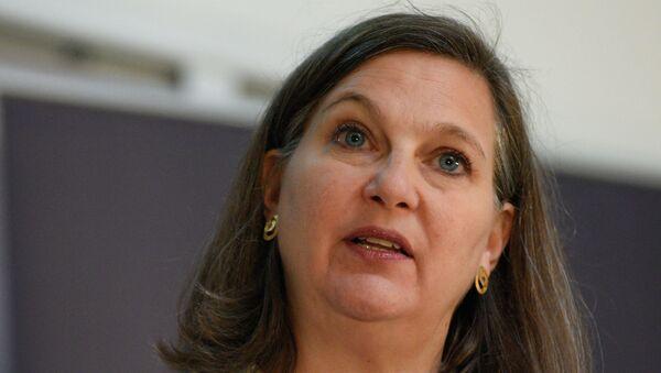 Assistant Secretary of State Victoria Nuland in Kiev - Sputnik Polska