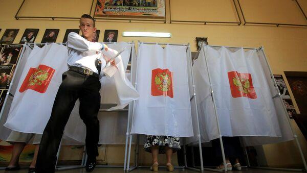 Wybory w Rosji - Sputnik Polska