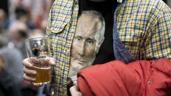 Koszulka z Putinem - Sputnik Polska