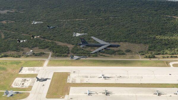 Amerykańska baza wojskowa na wyspie Guam - Sputnik Polska