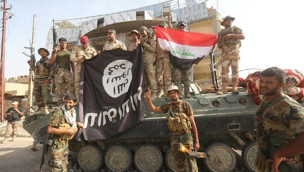 Walki przeciwko ISIS w Iraku - Sputnik Polska
