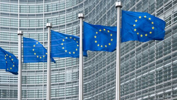 Flagi UE - Sputnik Polska