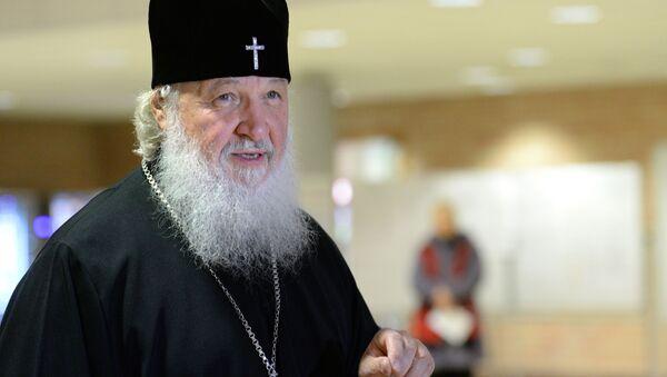 Patriarcha Moskwy i Wszechrusi Cyryl - Sputnik Polska