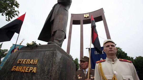 Pomnik Stepana Bandery we Lwowie - Sputnik Polska