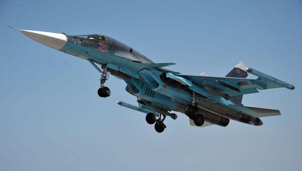 Operacja rosyjskich Sił Powietrzno-Kosmicznych w Syrii - Sputnik Polska