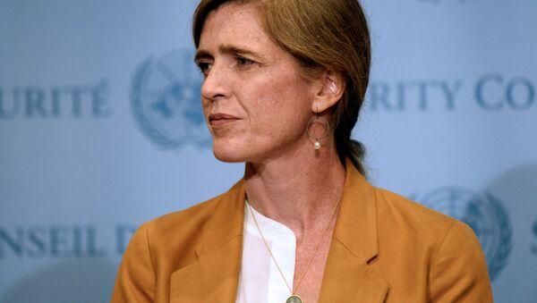 Ambasador USA przy ONZ Samantha Power - Sputnik Polska