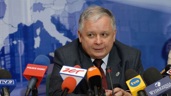Lech Kaczyński - Sputnik Polska