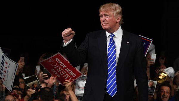 Kandydat Republikanów w wyborach prezydenckich Donald Trump - Sputnik Polska
