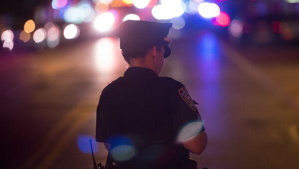 Policjantka w Nowym Jorku - Sputnik Polska