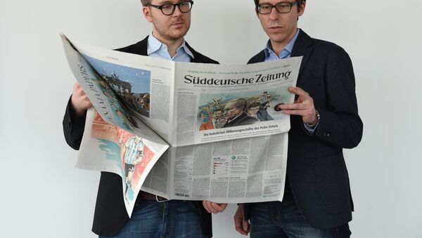 Media w Niemczech ślepo wierzą amerykańskiej propagandzie - Sputnik Polska