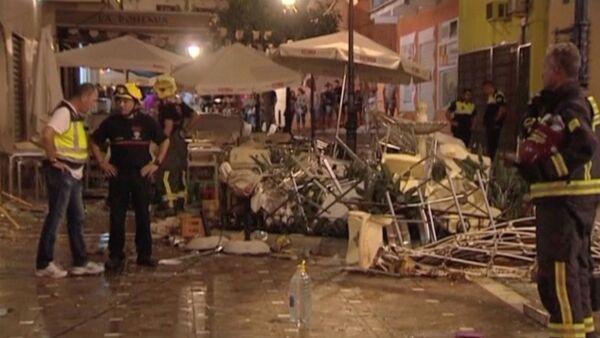 Hiszpania: 90 rannych w wyniku eksplozji butli z gazem w kawiarni - Sputnik Polska
