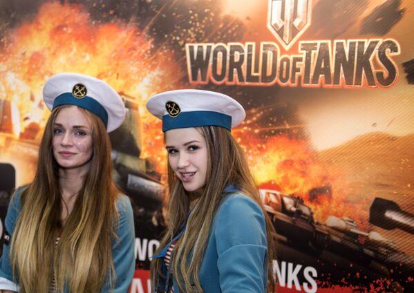 Uczestnicy wystawy IgroMir 2016 - Sputnik Polska