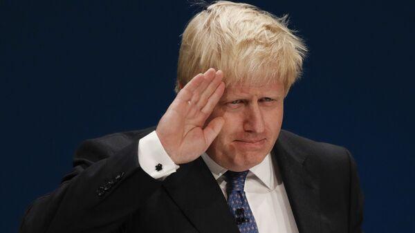 Minister spraw zagranicznych Wielkiej Brytanii Boris Johnson - Sputnik Polska