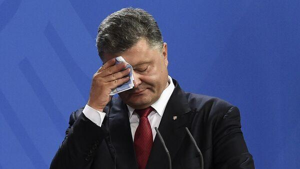 Petro Poroszenko - Sputnik Polska