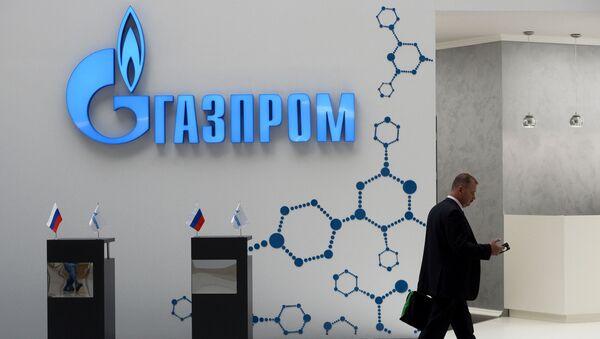 """Stoisko """"Gazpromu"""" na Międzynarodowym Forum Inwestycyjnym """"Soczi 2016"""" - Sputnik Polska"""
