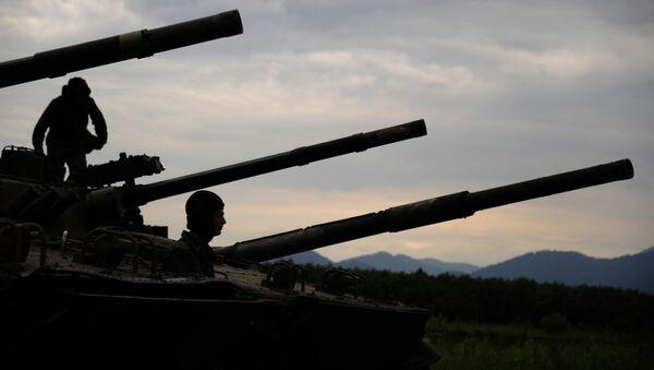Woronesko-Szumlenska Brygada Zmechanizowana w Osetii Północnej - Sputnik Polska