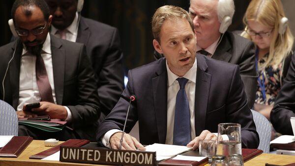Wiceminister spraw zagranicznych Wielkiej Brytanii Tobias Ellwood - Sputnik Polska