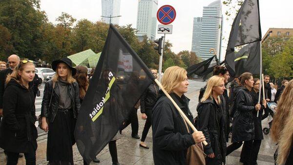 Protest kobiet - Sputnik Polska