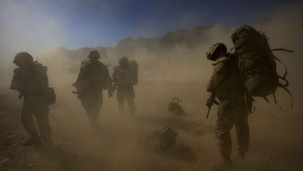Amerykańscy desantowcy w Afganistanie - Sputnik Polska