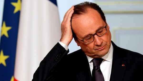 Prezydent Francji Francois Hollande - Sputnik Polska