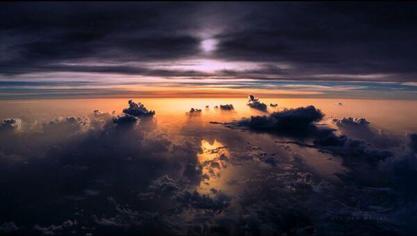 Sunset over the Atlantic - Sputnik Polska