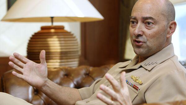Były Naczelny Dowódca Połączonych Sił Zbrojnych NATO w Europie admirał James Stavridis - Sputnik Polska